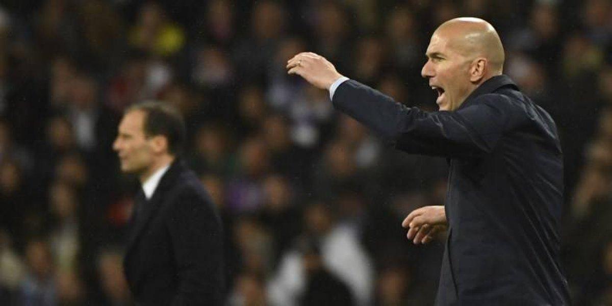 Zidane rompe el silencio y habla dela clasificación del Madrid a semifinales