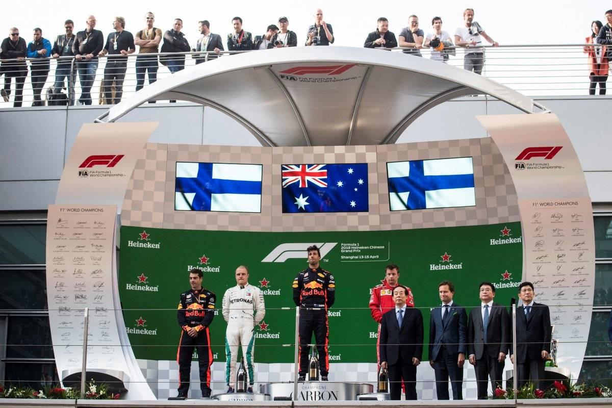 El podio