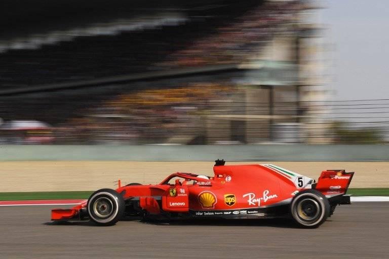 Sebastián Vettel se mantiene al frente de la clasificación mundial.
