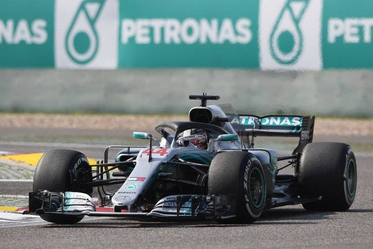 Lewis Hamilton no estuvo esta vez dentro de los primeros lugares.
