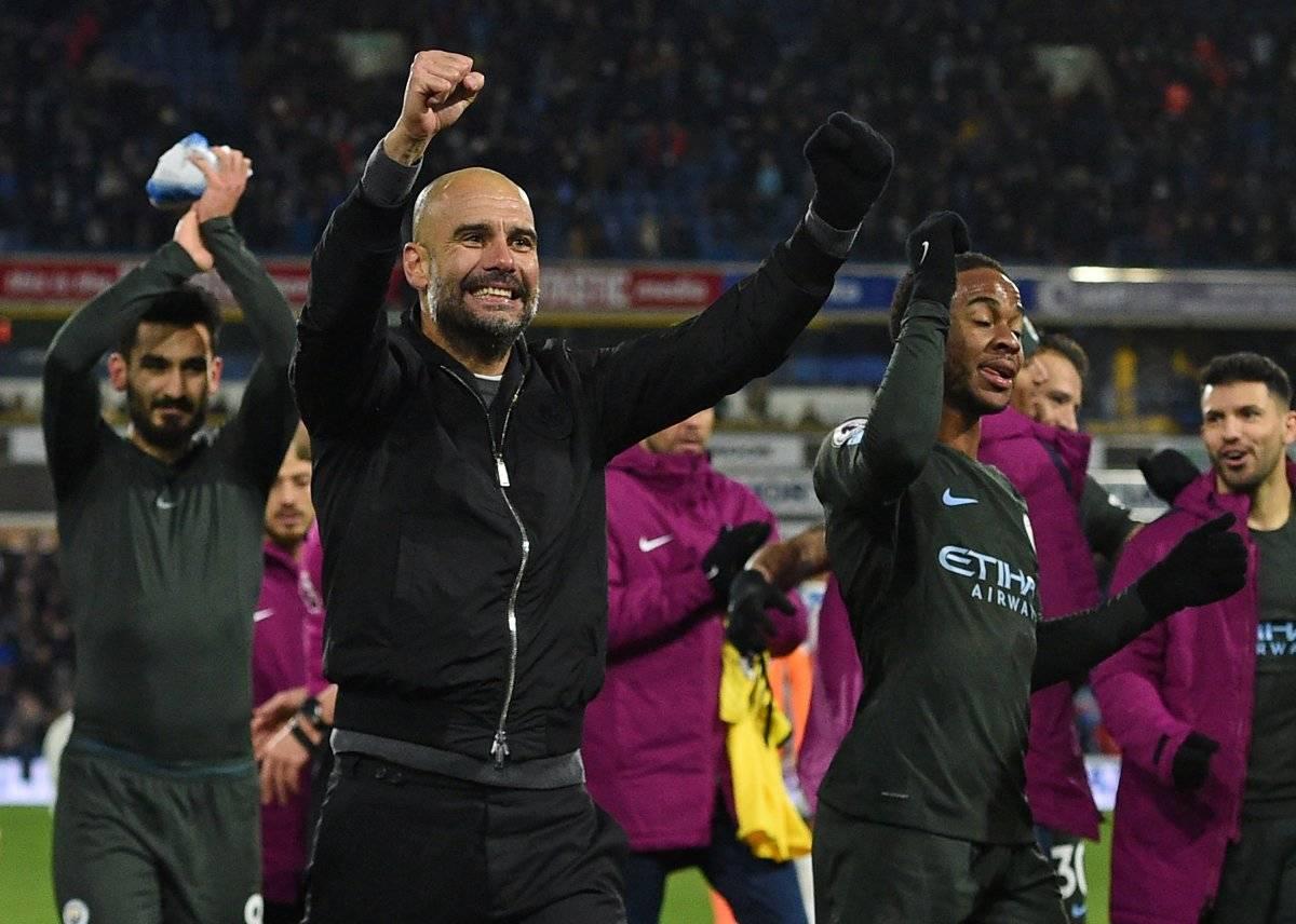 Guardiola gana su primer título de Liga con el City