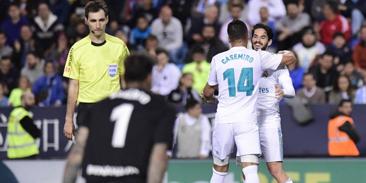 El Real Madrid salta al tercer puesto de la Liga