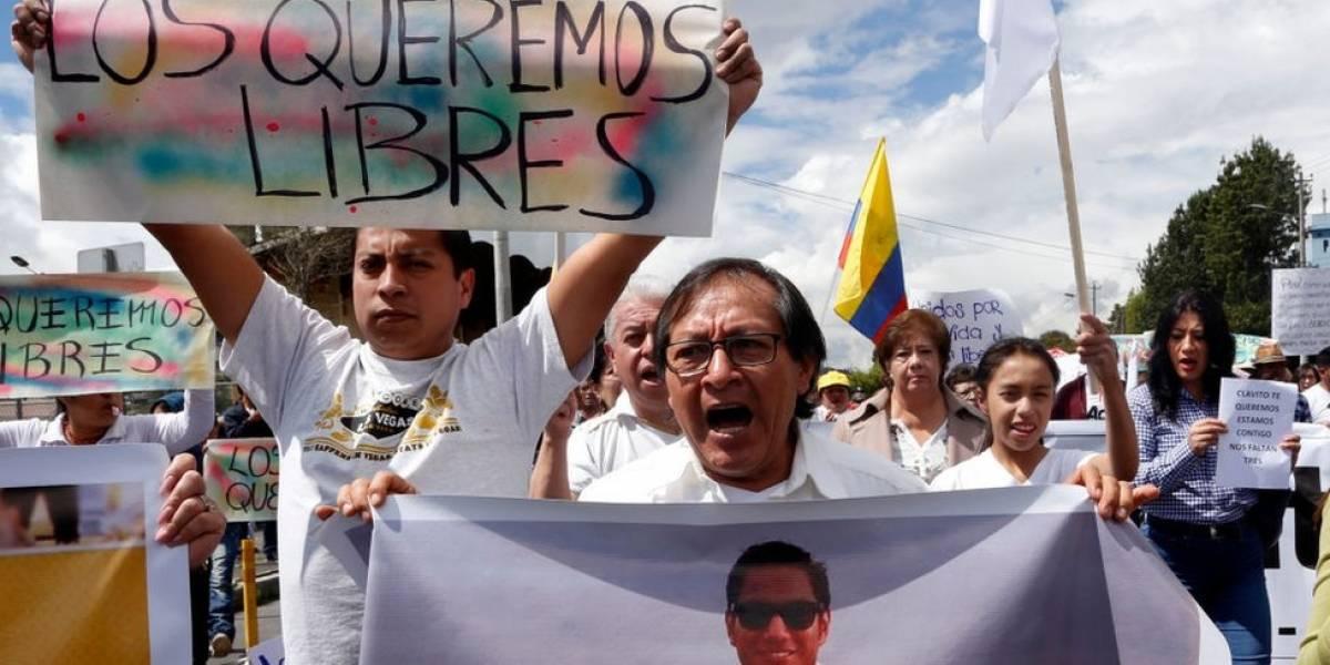 Cómo viven en Ecuador el primer asesinato en su historia de un equipo de prensa por disidentes armados de las FARC