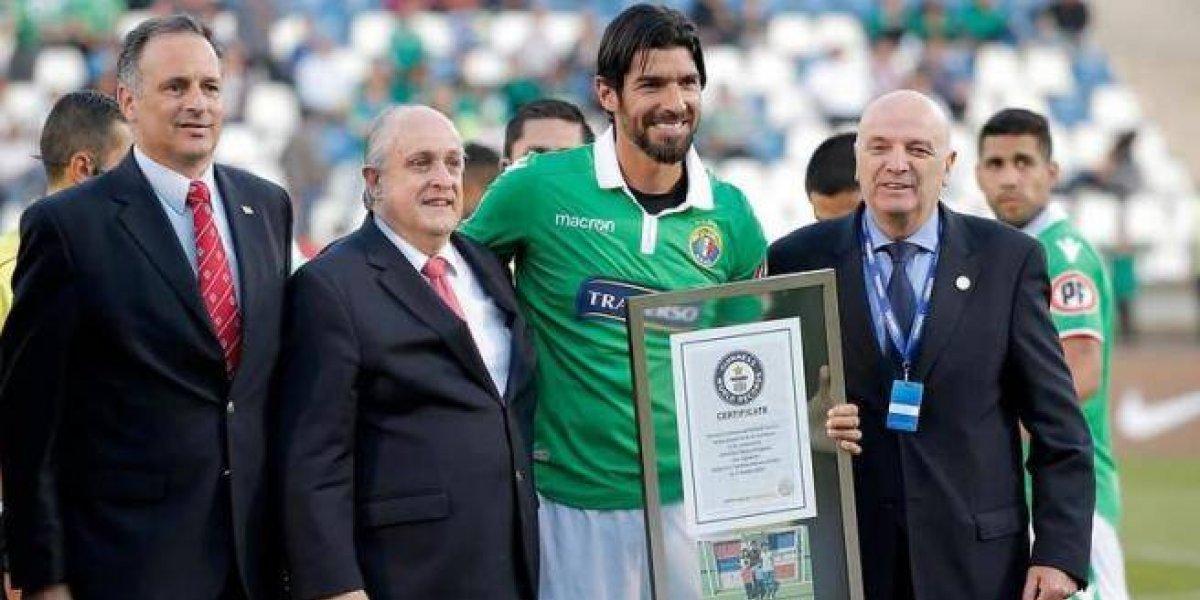 Sebastian Abreu es Récord Guinness
