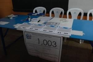 abren centros de votación para la consulta popular