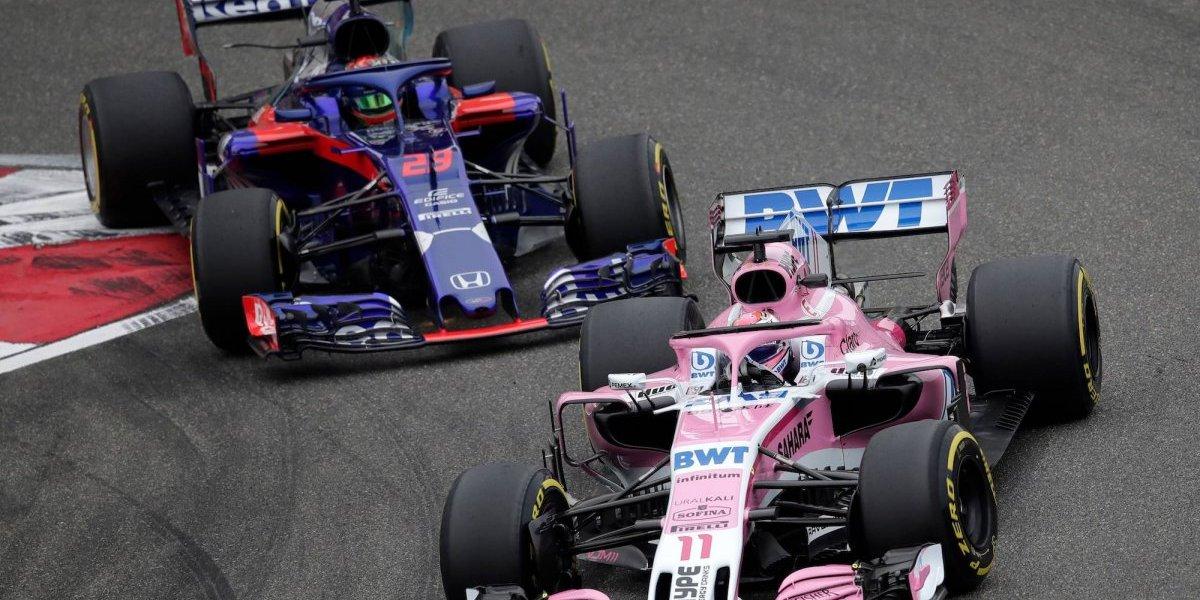 Sergio Pérez vuelve a quedarse sin puntos en el GP de China