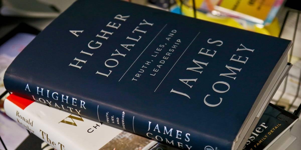 """Trump llama """"asqueroso"""" a James Comey por su próximo libro"""