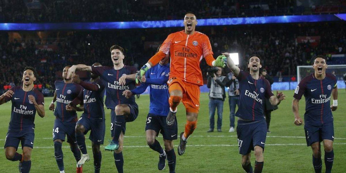 PSG se corona en Francia con goleada sobre el Mónaco