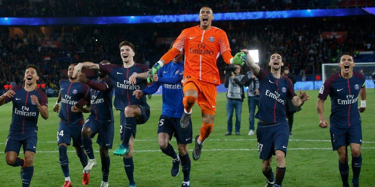 PSG ganó la liga de Francia humillando al Mónaco