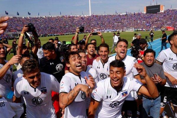 Colo Colo celebró en el Nacional / imagen: Agencia UNO