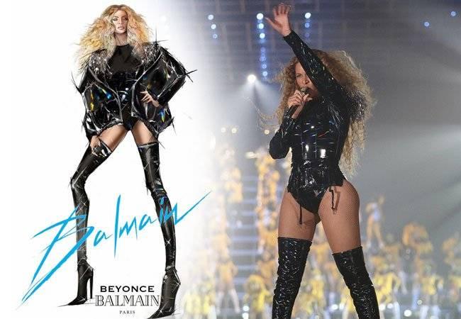 Beyoncé Balmain