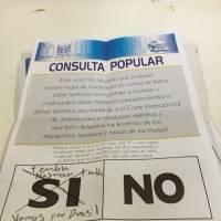 Boletas con mensaje Consulta Popular