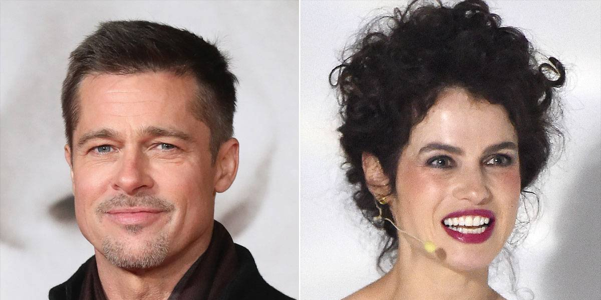 ¿Brad Pitt con nuevo amor?