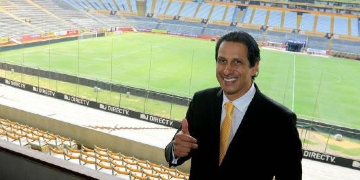 José Francisco Cevallos reaccionó tras el gol de su hijo en el fútbol belga