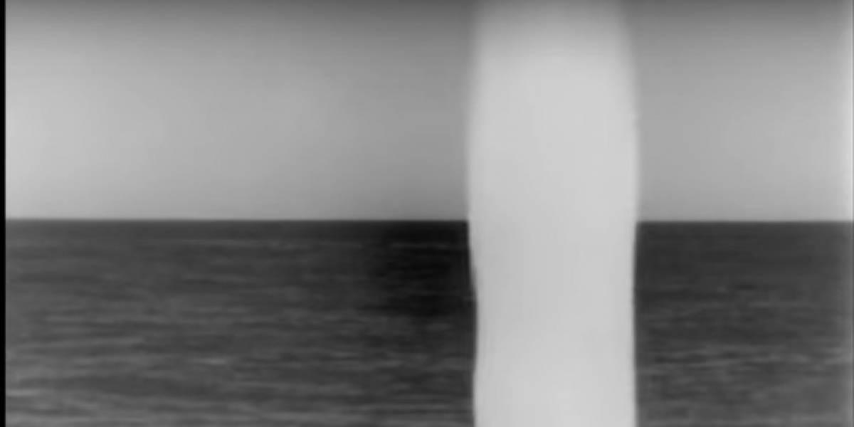 VIDEO. Momento en que un submarino de EE. UU. lanza misiles contra Siria
