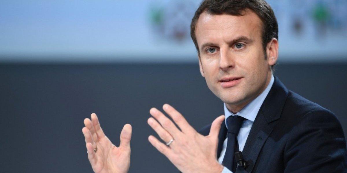 """Macron y el ataque a Siria: """"hace diez días Francia convenció a Trump de quedarse"""""""