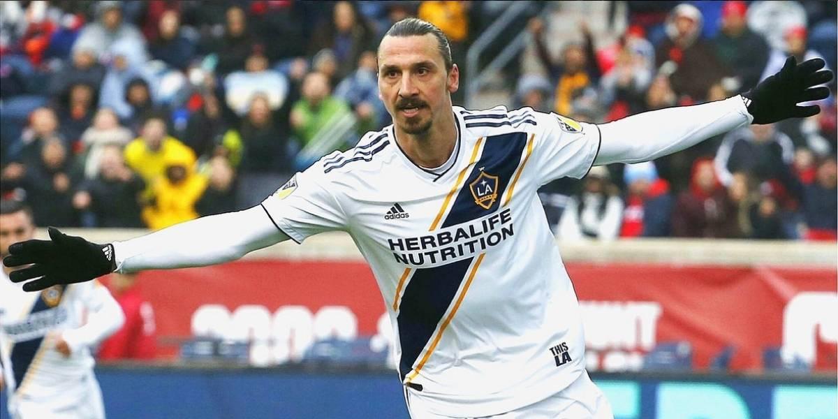 Zlatan Ibrahimovic vuelve a dar cátedra en la MLS con otro golazo