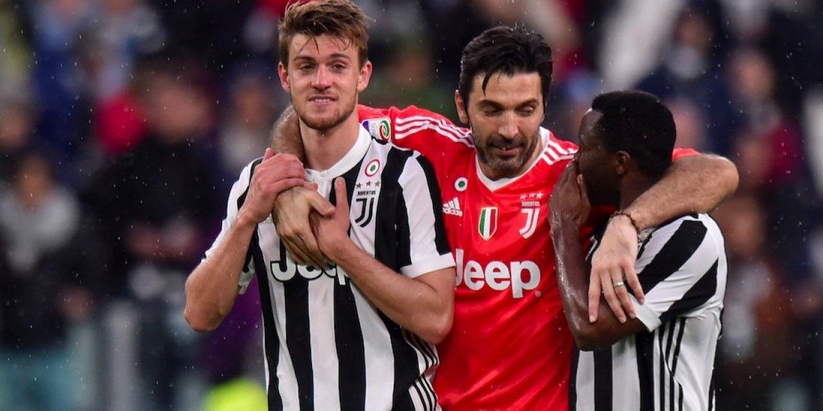 Juventus golea al Sampdoria y mantiene el liderato en Italia