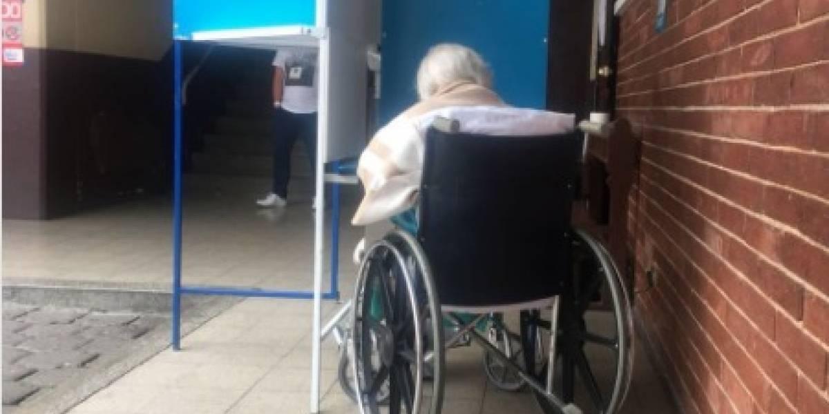 ¡No importa la edad! Guatemaltecos de hasta 99 años emitieron su voto por Guatemala