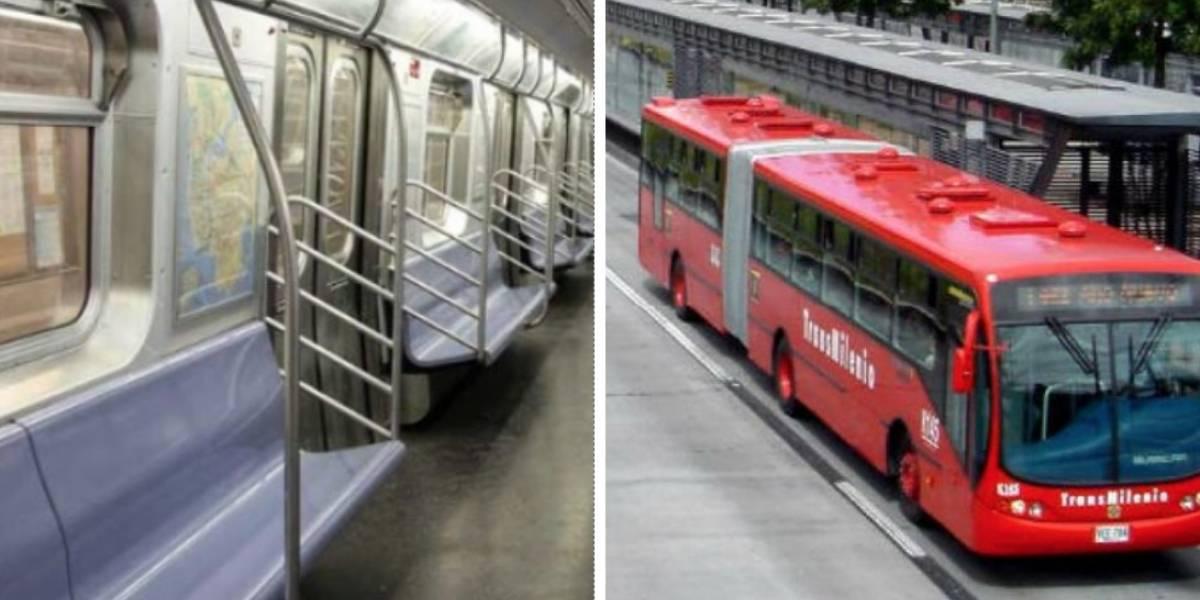 Para ganar más espacio TransMilenio ya no tendría sillas sino bancas