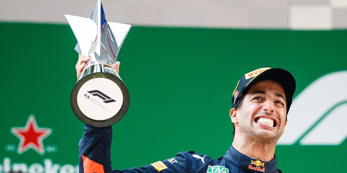 Daniel Ricciardo triunfa en el Gran Premio de China