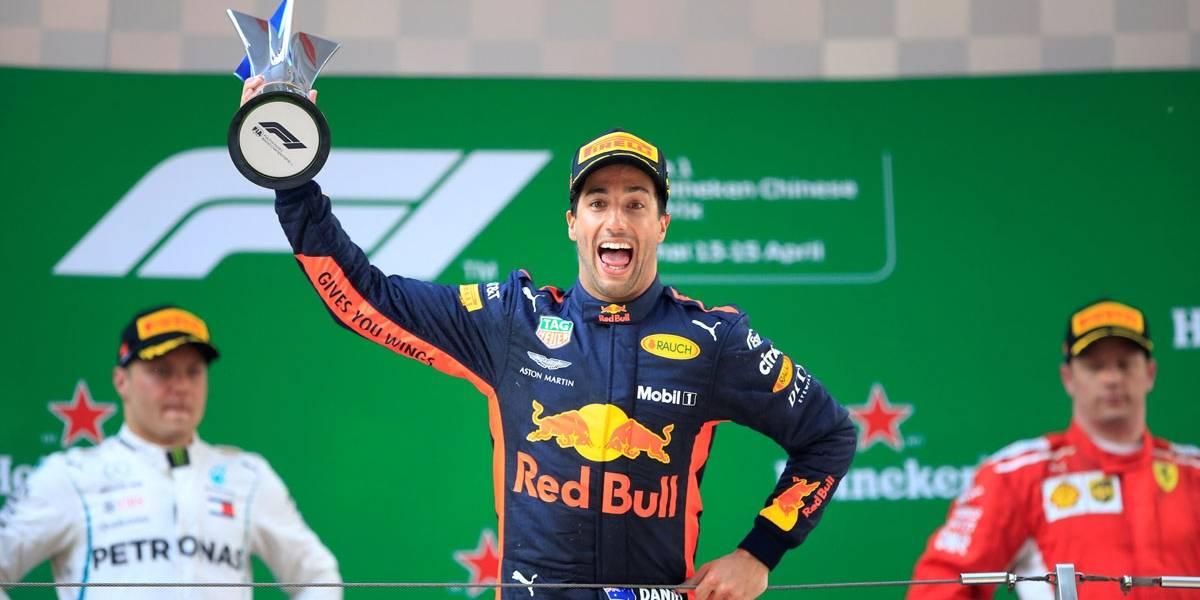 Ricciardo surpreende os favoritos e vence o GP da China na Fórmula 1