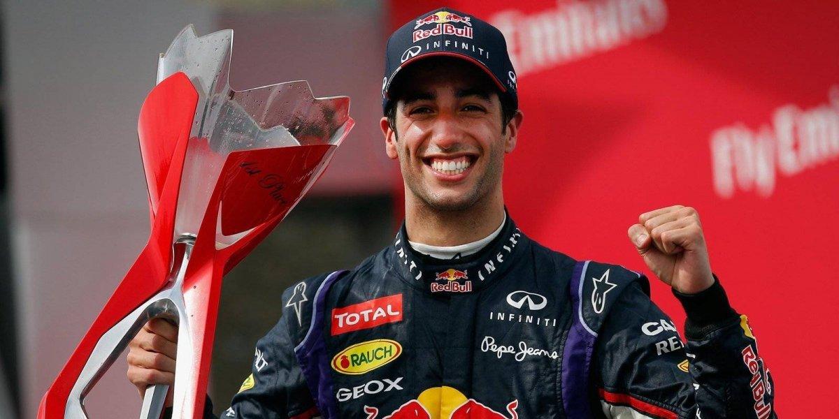 Ricciardo se proclama ganador del Gran Premio de China