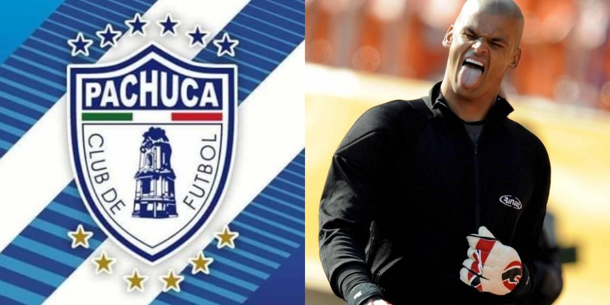Sentido homenaje del Pachuca para Miguel Calero