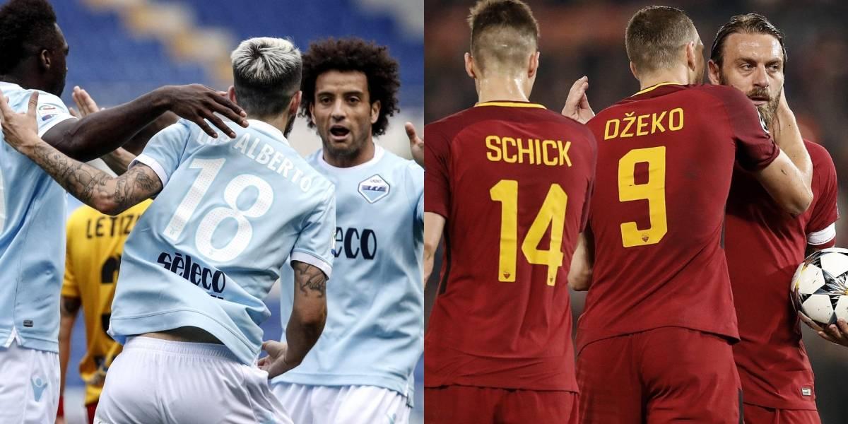 Lazio VS Roma, el derbi llamativo de la jornada europea