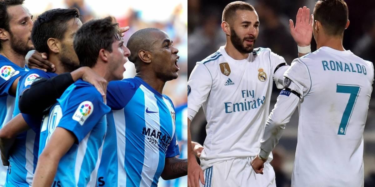 Real Madrid visita al colero de La Liga, Málaga