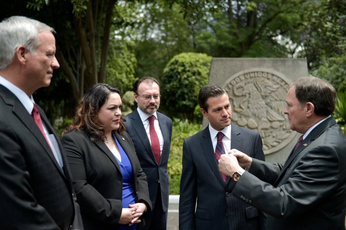 Gary Herbert Utah con Peña Nieto