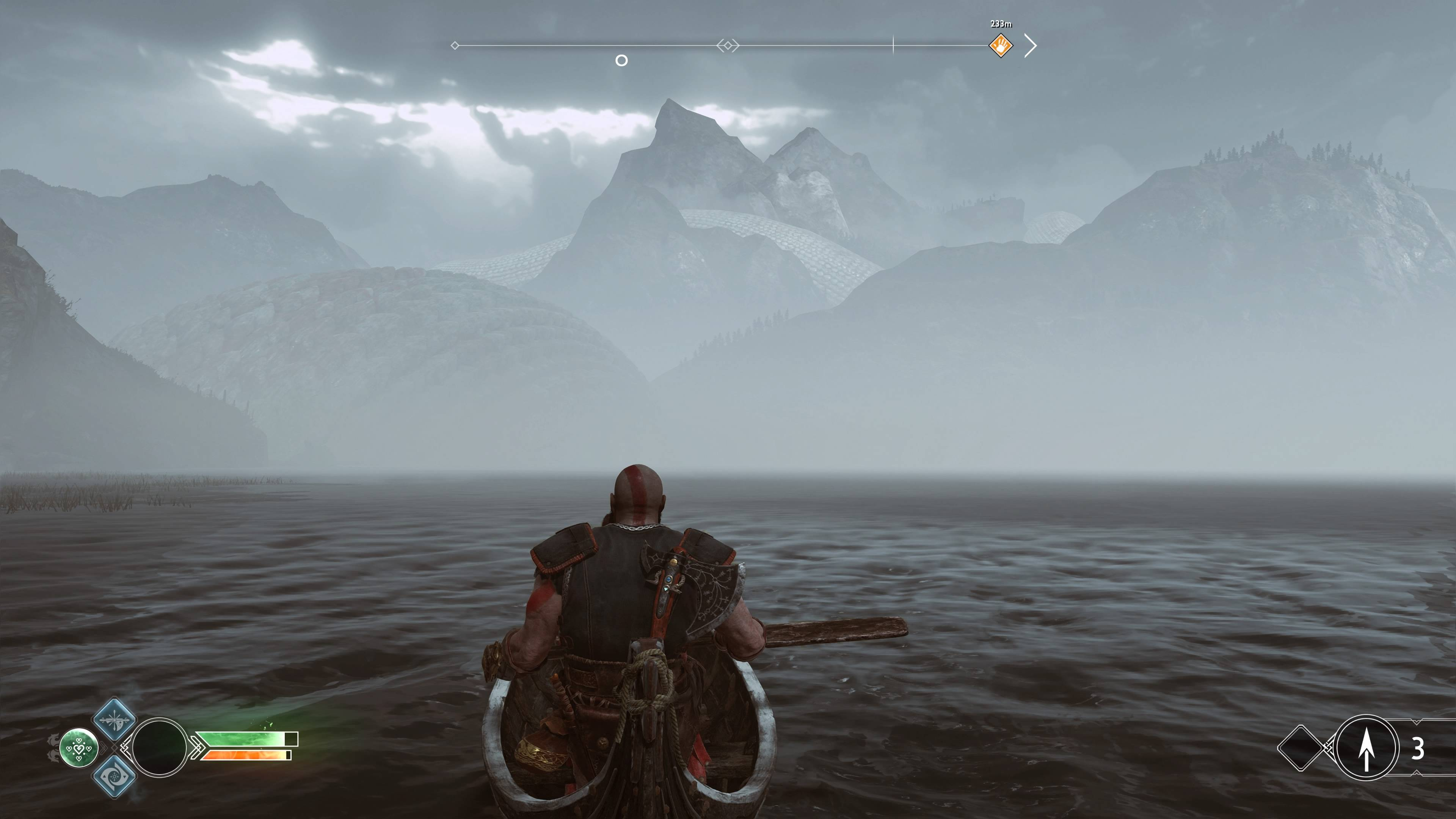God of War en bote