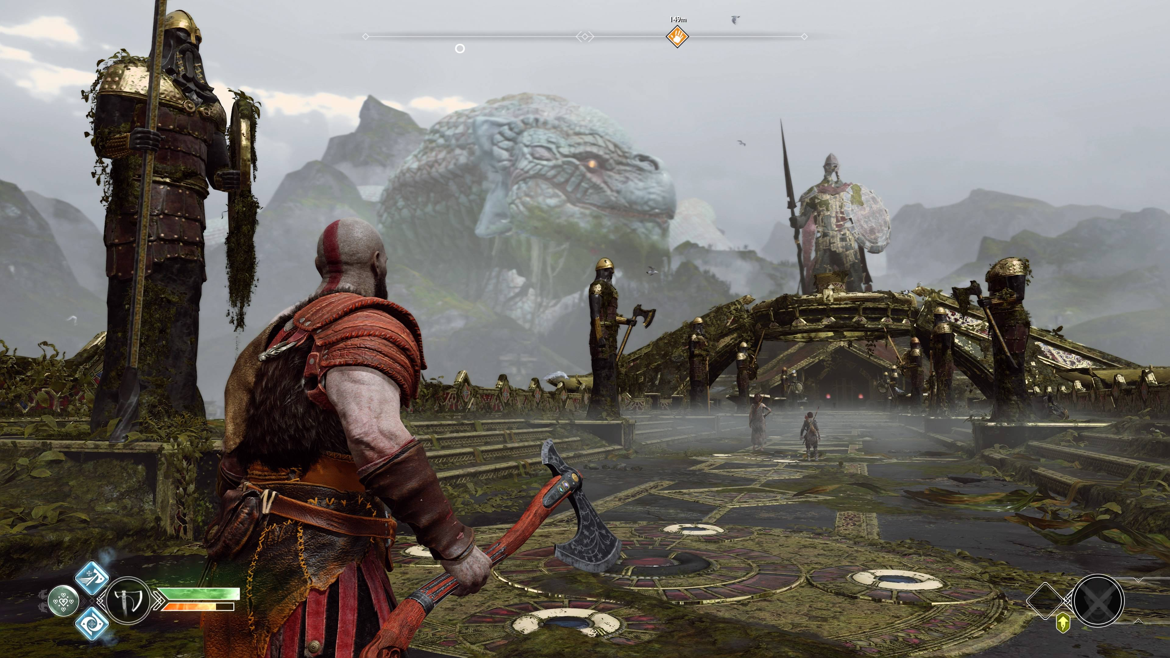 God of War paisaje
