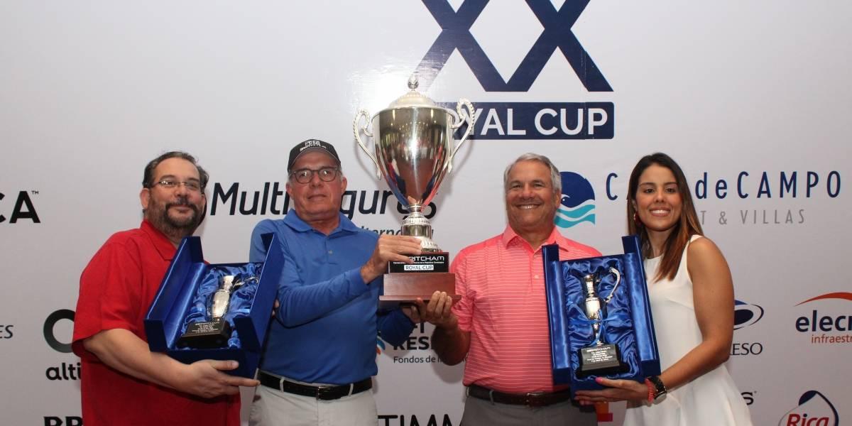Juan Oller y Enrique Ricart ganan la Royal Cup de la Cámara Británica