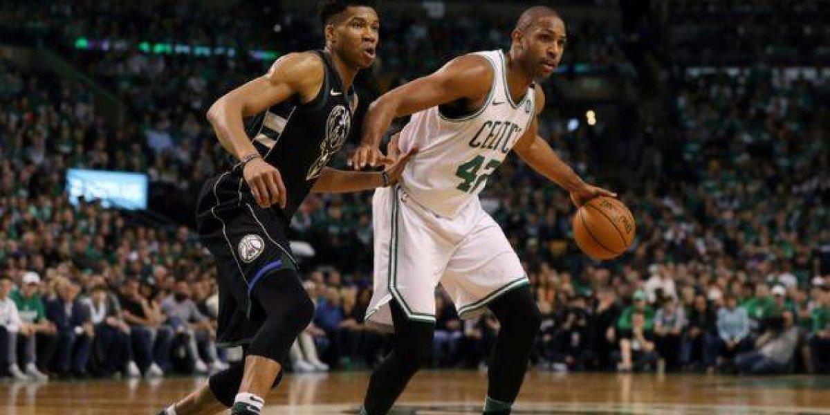 Con Horford a la cabeza Celtics vencen a Bucks en tiempo extra