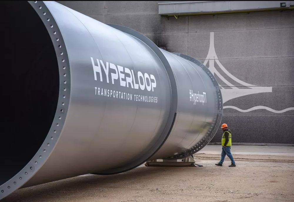 Hyperloop Francia