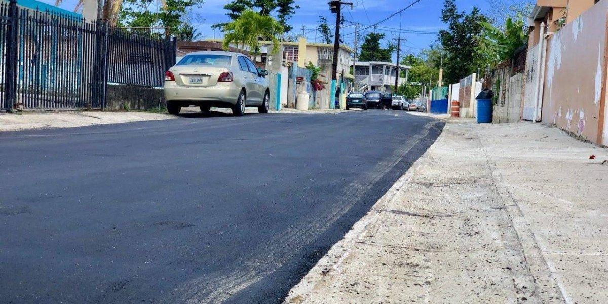 Cataño reconstruye y pavimenta calles en la barriada Vietnam