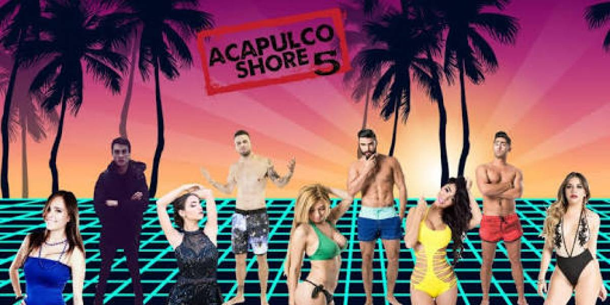 Filtran candentes escenas de Acapulco Shore 5