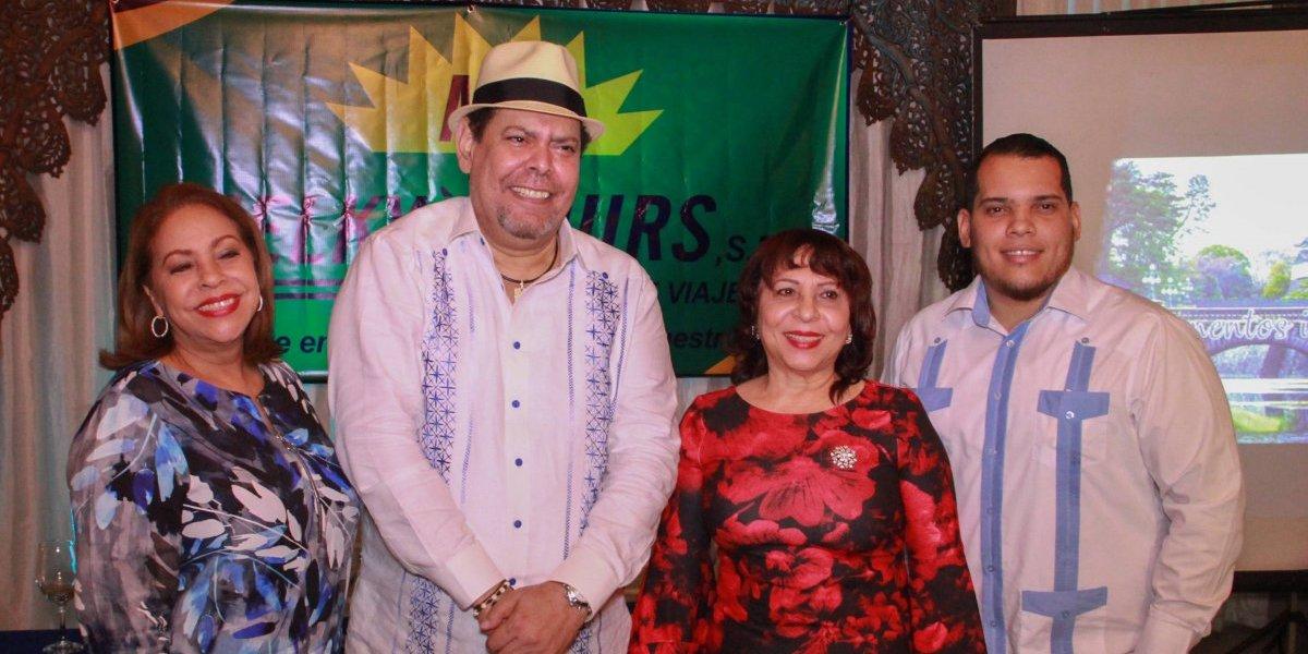 #TeVimosEn: Melky Tours anuncia cruceros en compañía de Villalona