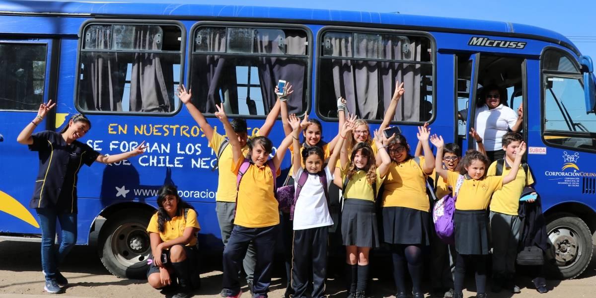 Transporte de estudiantes y adultos mayores: cerca de 10 mil vecinos de Colina viajan diariamente en forma gratuita