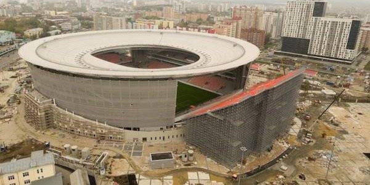 Inauguran estadio mundialista