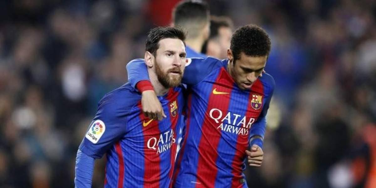 """Neymar: """"Messi es el mejor de todos"""""""