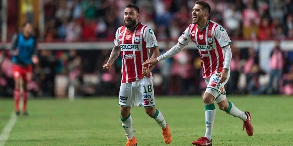 El Necaxa de los chilenos vuelve a ganar y sueña con los playoffs de la Liga MX