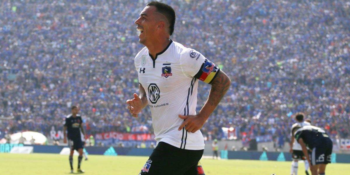 Ya es clásico: Paredes cortó la sequía goleadora en Colo Colo ante su rival favorito