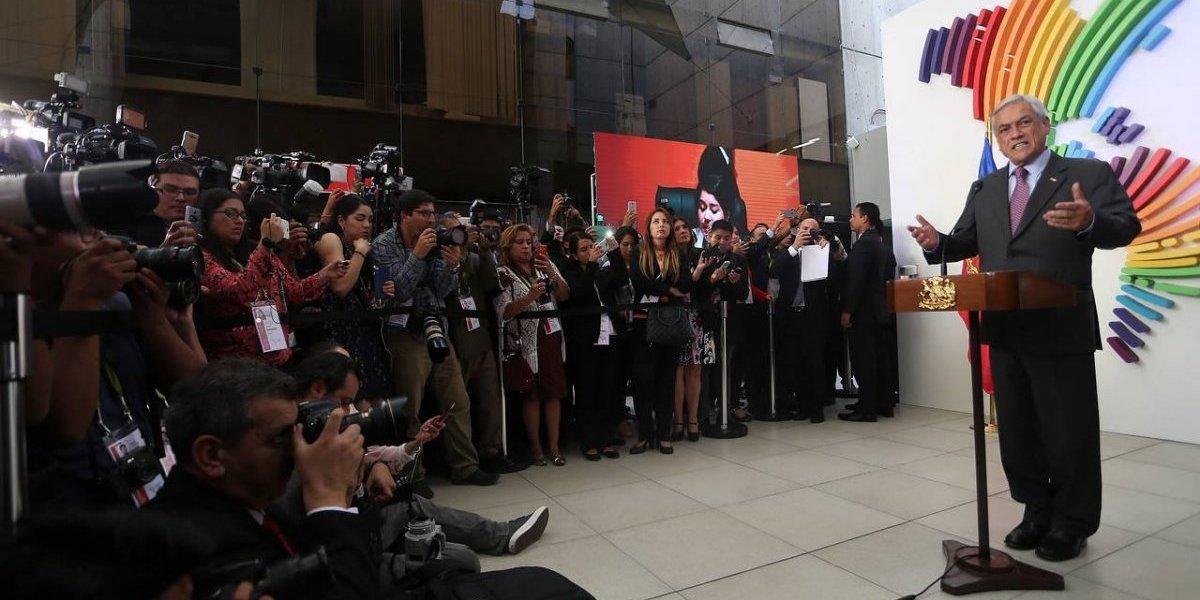 Piñera volvió como rockstar tras primer viaje al extranjero en su segundo período