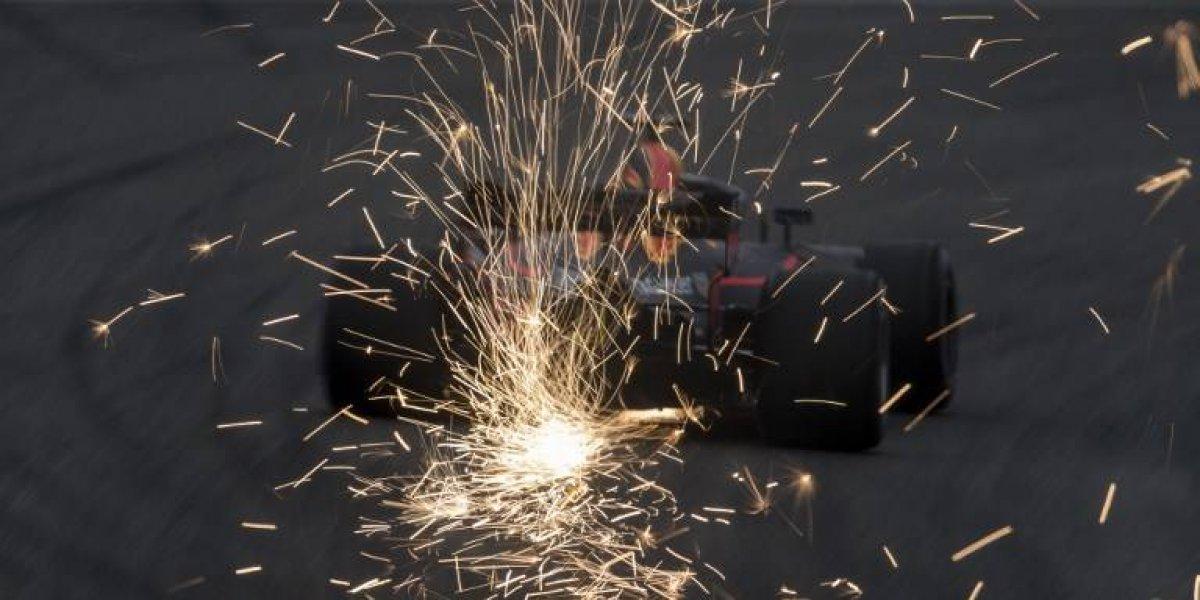 Ricciardo saca chispas en el Gran Premio de China