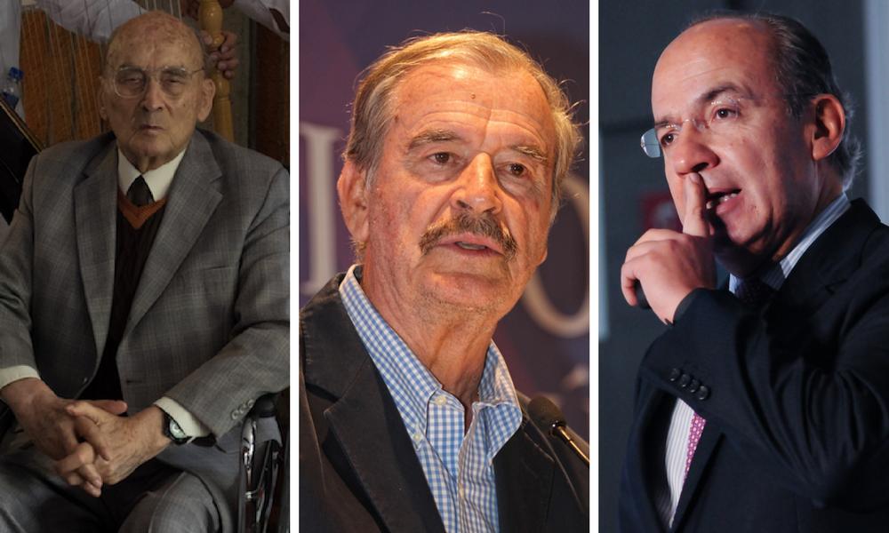 Pensiones de expresidentes cuestan 40 mdp anuales a mexicanos