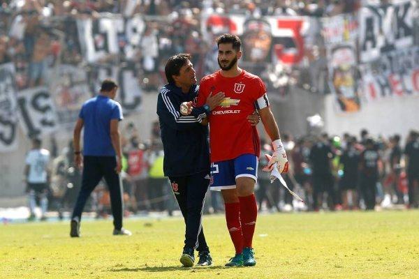 Herrera volvió a sufrir con Colo Colo / imagen: Photosport