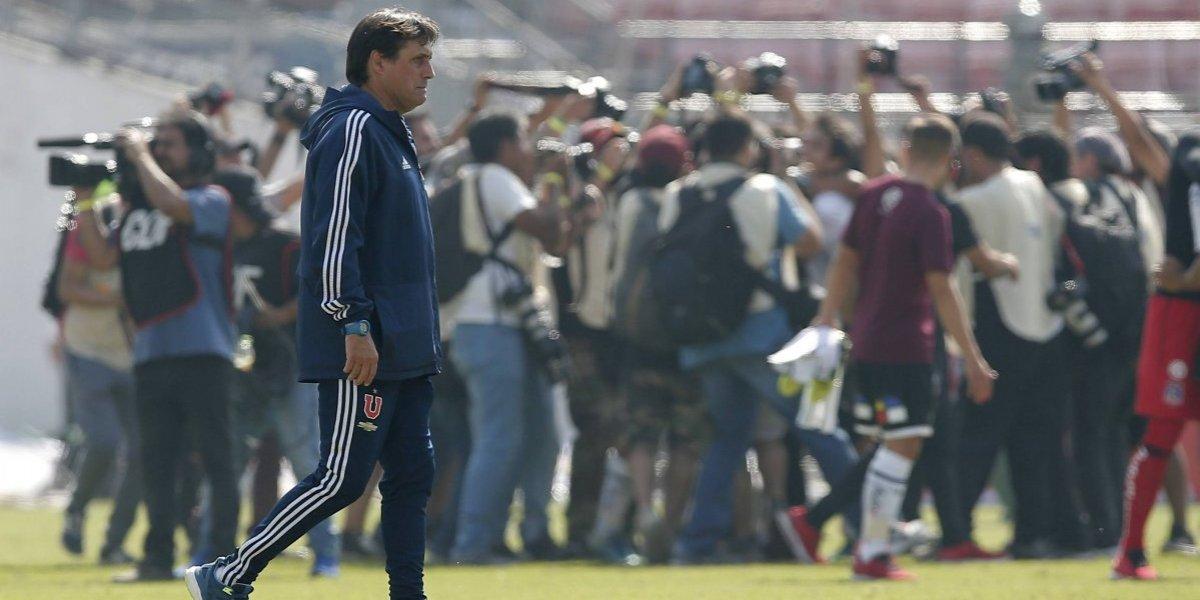 Hoyos espera un milagro para levantar a la U antes de la Copa Libertadores