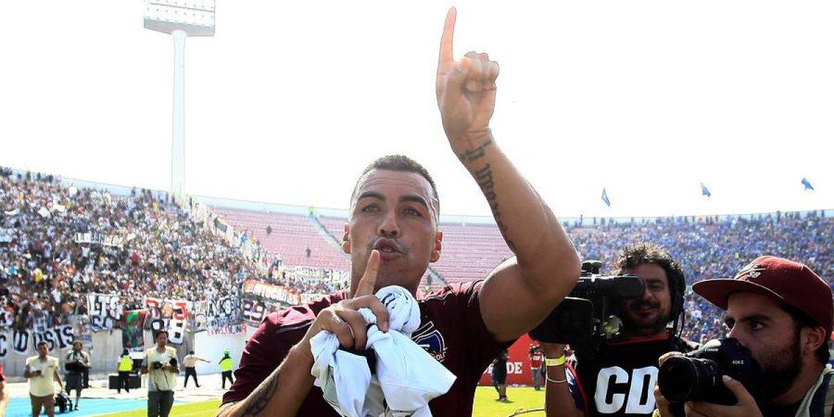 Los mandó a callar: Los gestos de Esteban Paredes en el Superclásico ante Universidad de Chile